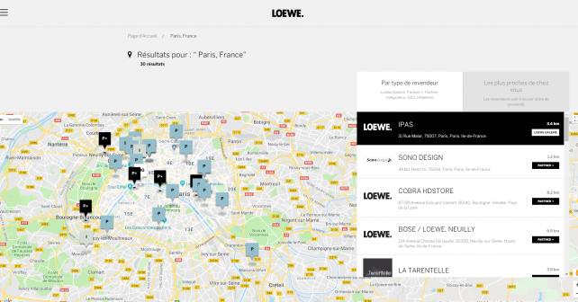Store Locator: Sublimez votre réseau physique sur internet.