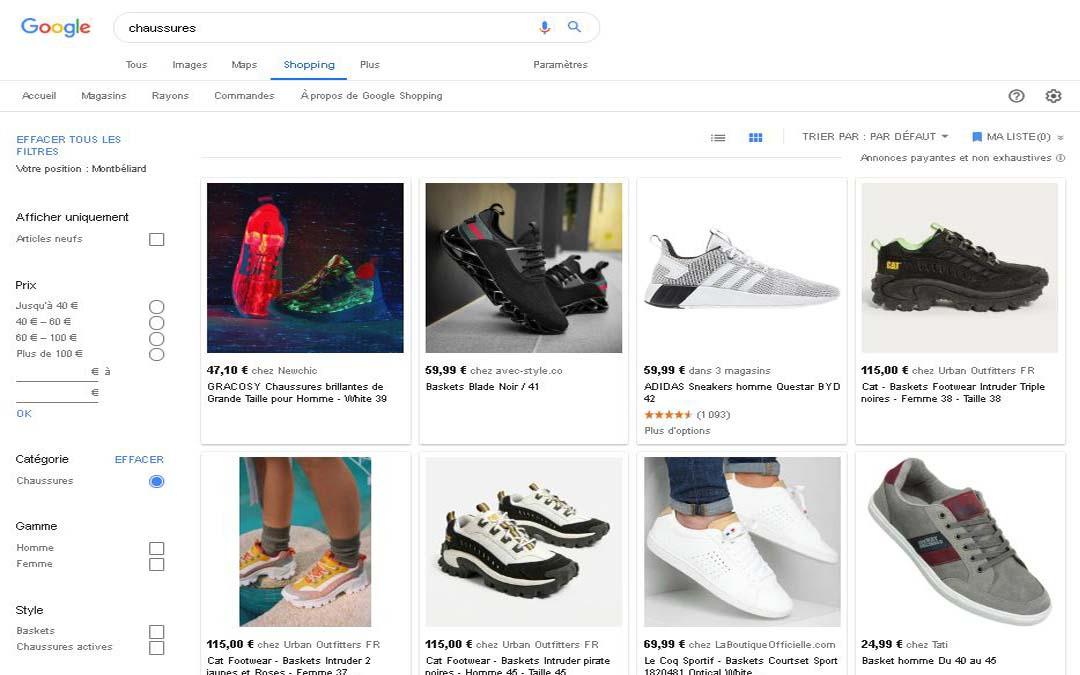 Google Shopping : l'arme de tout e-commerçant