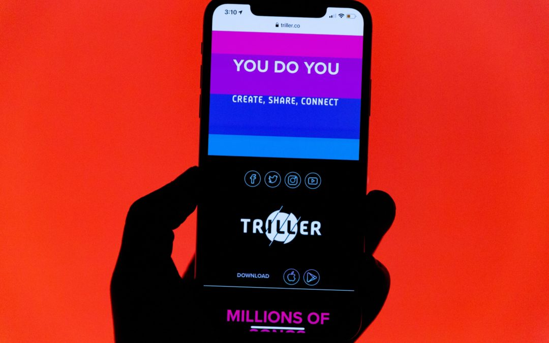 Triller la nouvelle application qui veut concurrencer TikTok