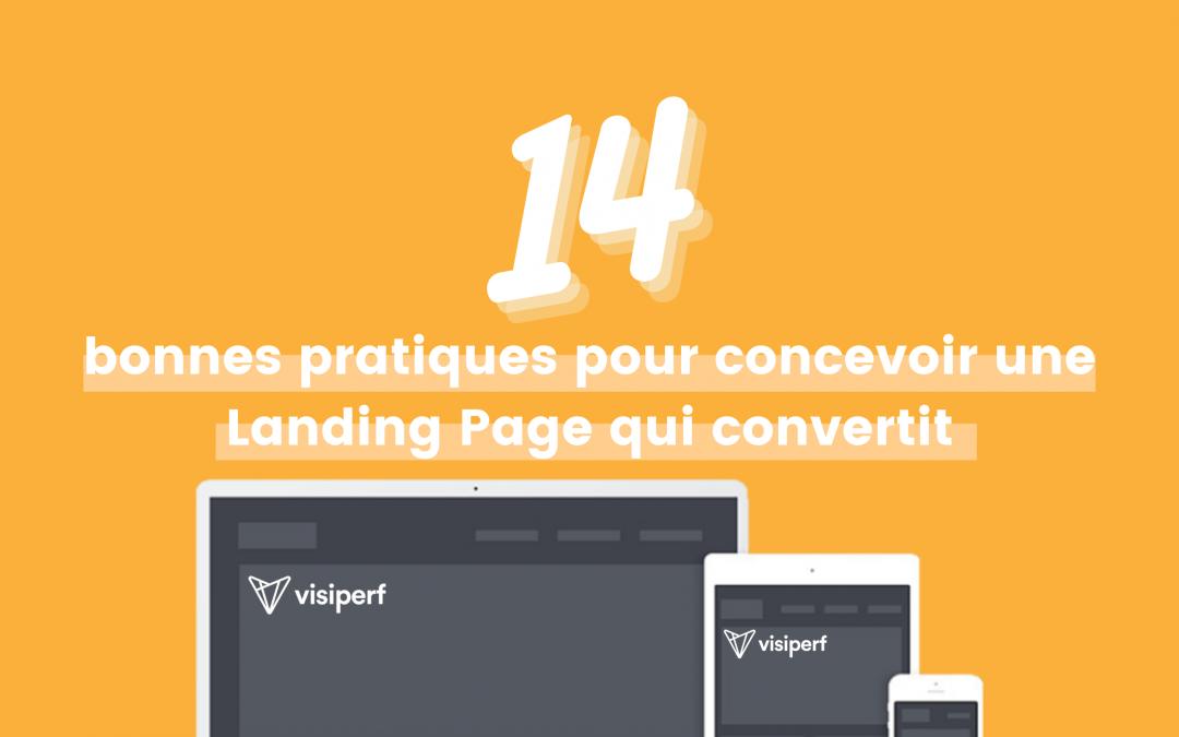 14 bonnes pratiques pour concevoir une landing page qui convertit