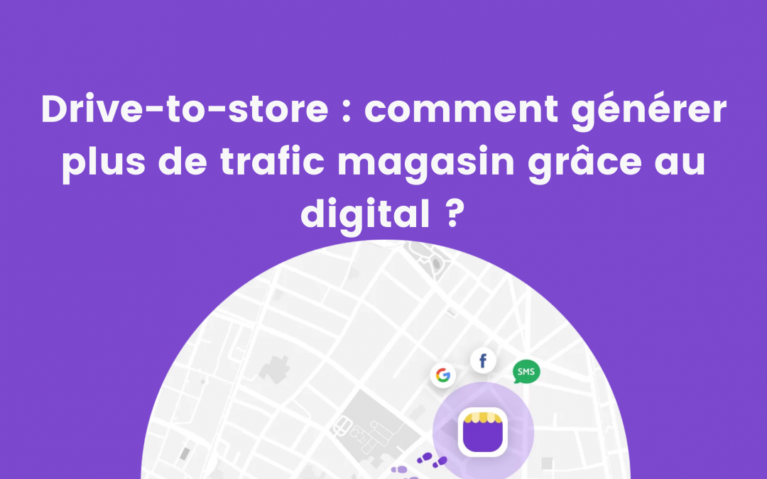 Drive-to-Store : comment générer plus de trafic magasin grâce au digital ?